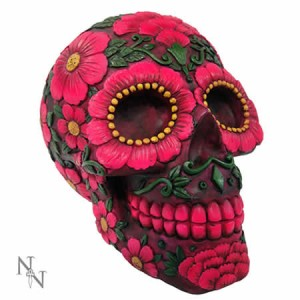 Nemesis Now Sugar Blossom Skull Figurine