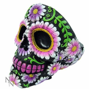 Nemesis Now Sugar Skull Petal Ashtray