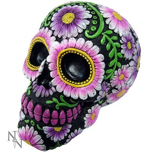 Nemesis Now Sugar Skull Petal Figurine