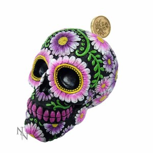 Nemesis Now Sugar Skull Money Box