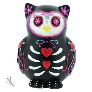 Nemesis Now Sugar Skull Sugar Hoot Owl Figurine