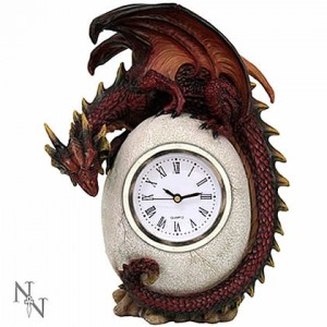 Nemesis Now Timeless Guardian Dragon Clock