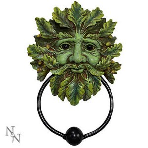 Nemesis Now Green man Door Knocker