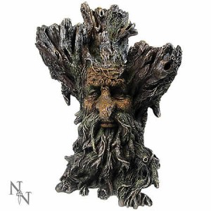 Nemesis Now Green Man Tri Tealight Holder