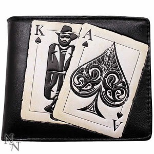 Nemesis Now Vegas Playing Cards Men's Wallet