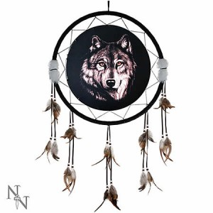 Nemesis Now Wild Wolf Dreamcatcher Large