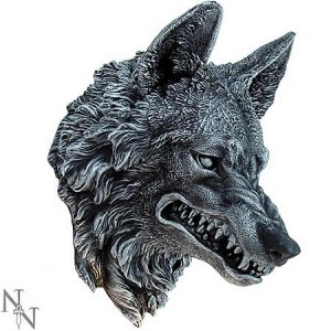 Nemesis Now Wolf Wall Plaque
