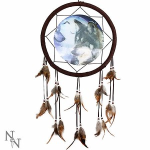 Nemesis Now Wolves Discern 3D Dreamcatcher