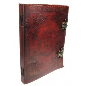 Nemesis Now Large Book of Shadow Leather Journal 35cm