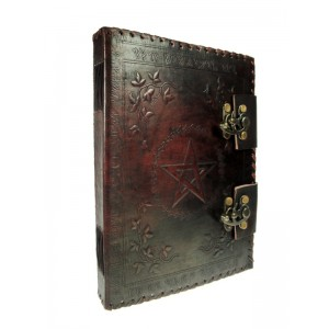 Nemesis Now Small Book of Shadow Leather Journal 25cm