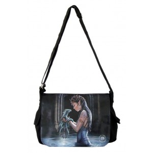Nemesis Now Anne Stokes Messenger Bag Water Dragon