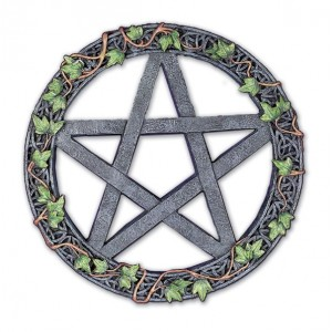 Pentagram Wall Plaque (20cm) (P4)