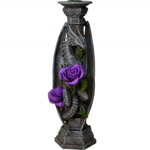 Nemesis Now Anne Stokes Dragon Beauty Candle Stick