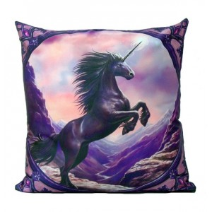 Cushion - Black Unicorn