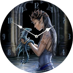 Nemesis Now Anne Stokes Water Dragon Clock