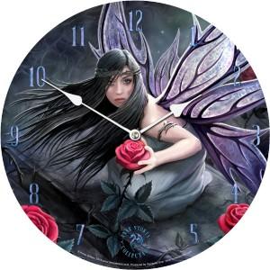 Rose Fairy Clock - AS 34cm (P6)